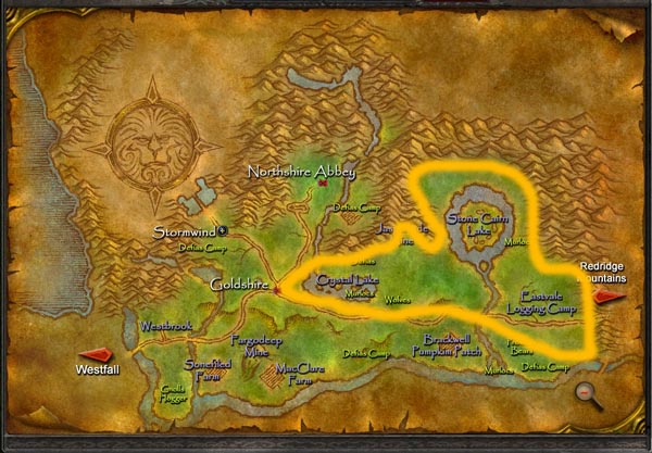 wow mining routes